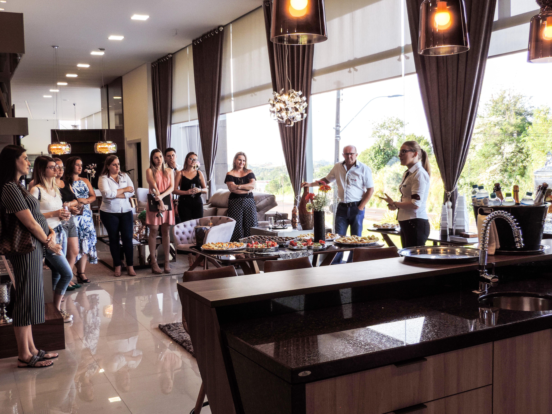 Boa Vista Home Design realizou um Happy Hour para arquitetos e designers de interiores.