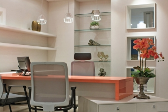 Home Office Coral Rosé