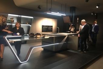 Boa Vista visita o espaço EuroCucina no Insalone
