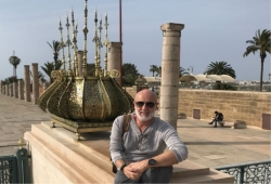 Ale Zanonato retorna de viagem do Marrocos